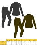 Термобелье Tramp комплект Fleece (темно-серый)